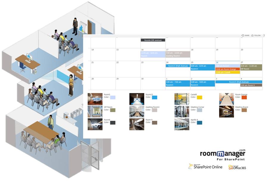 Conference Room Scheduling Software Sharepoint Designer
