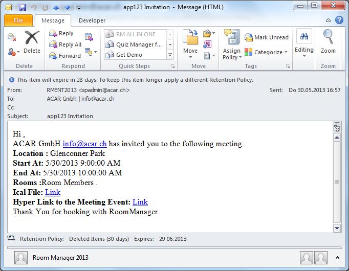 Conference Invitation Email   futureclim.info