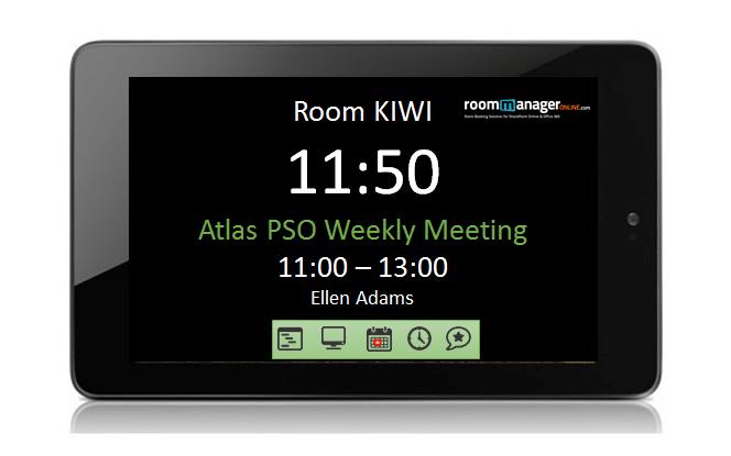 Digital Signage Conference Room Displays Room Manager