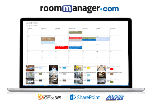Office 365 Meeting Room Scheduling And Booking | Room Manager