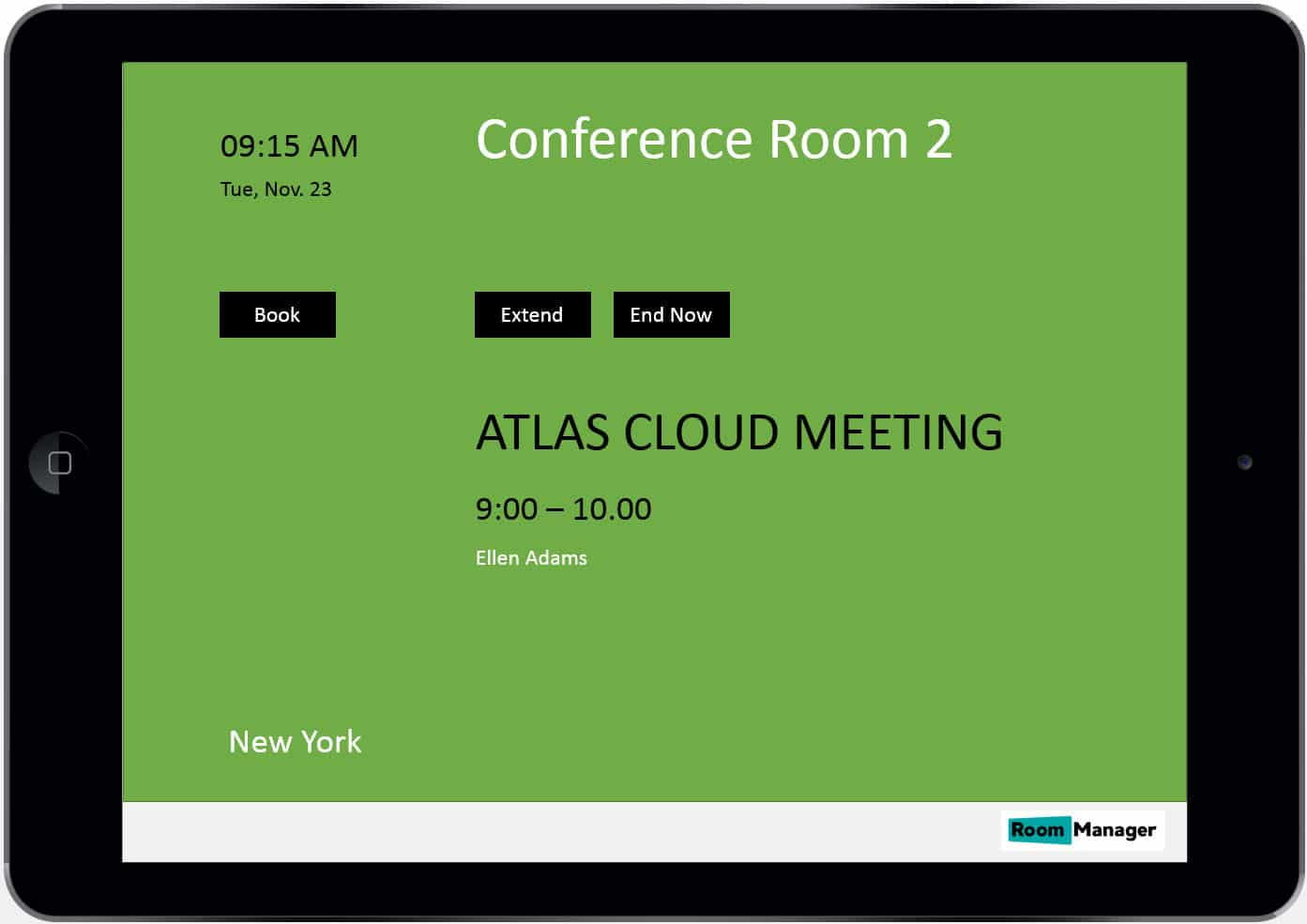 Conference Room Touch Screen