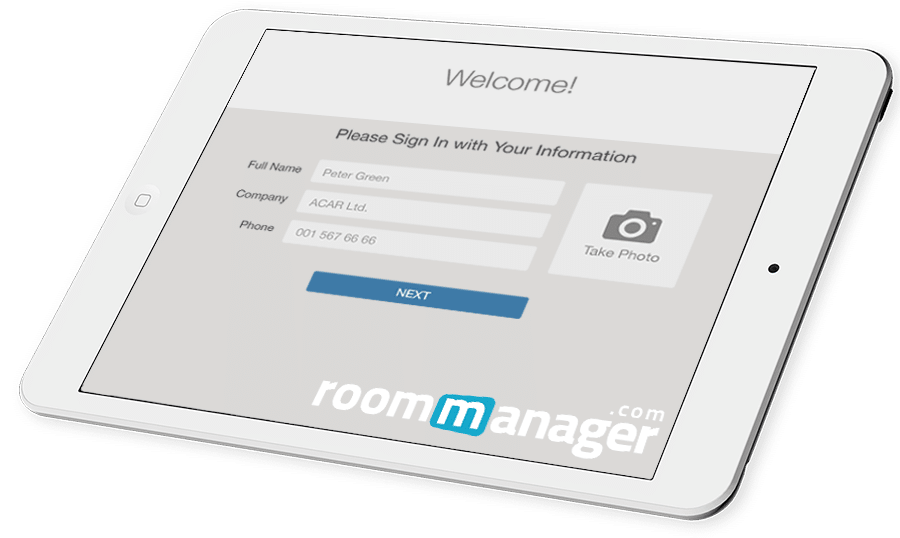 Room Manager Visitor Connect