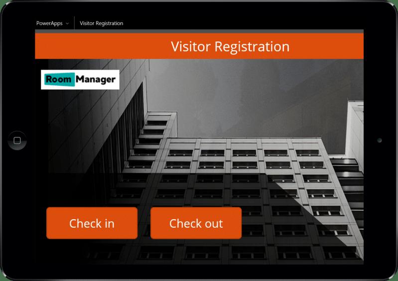 Visitor Registration App for Office 365   Room Manager Office 365