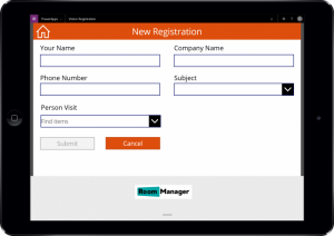 Visitor Registration CheckIn