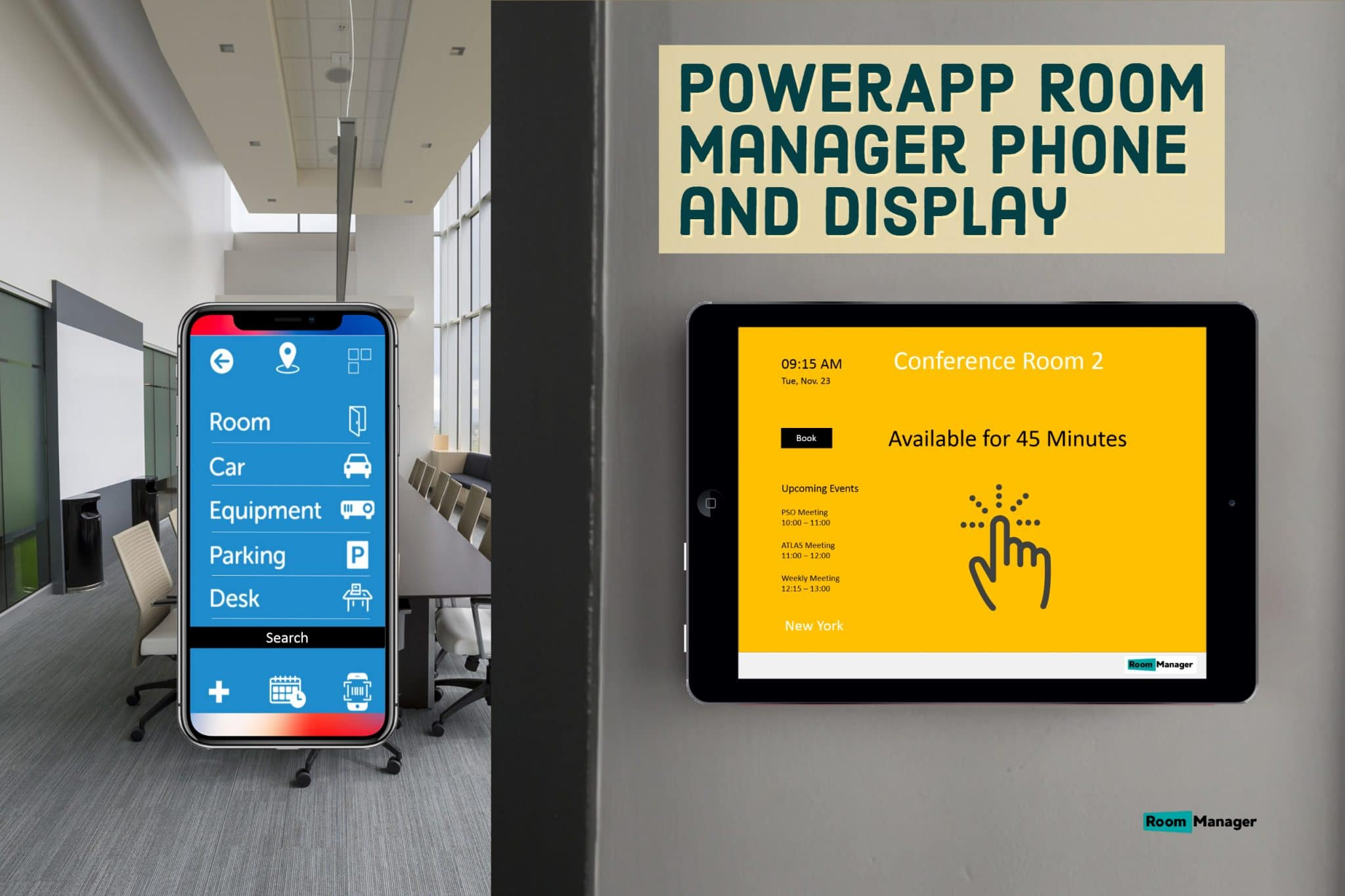 Powerapp Phone and Display