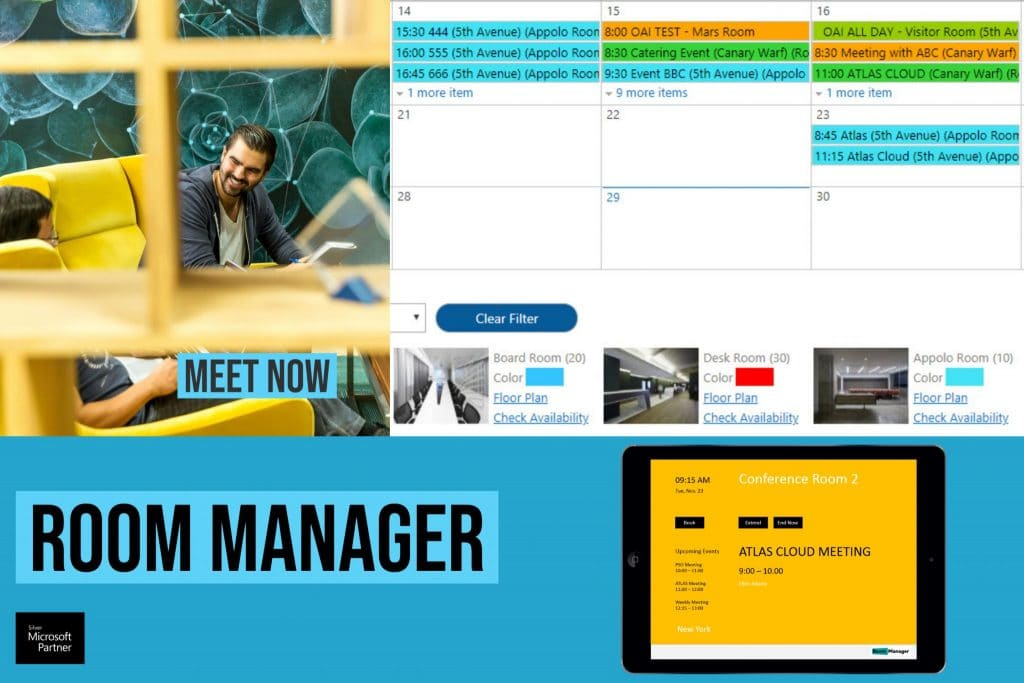 Room Manager Calendar Office