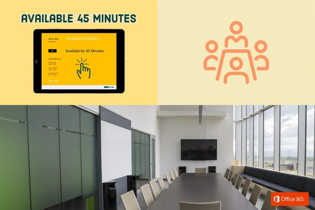 Office 365 Meeting Booking Software | Room Manager Office 365