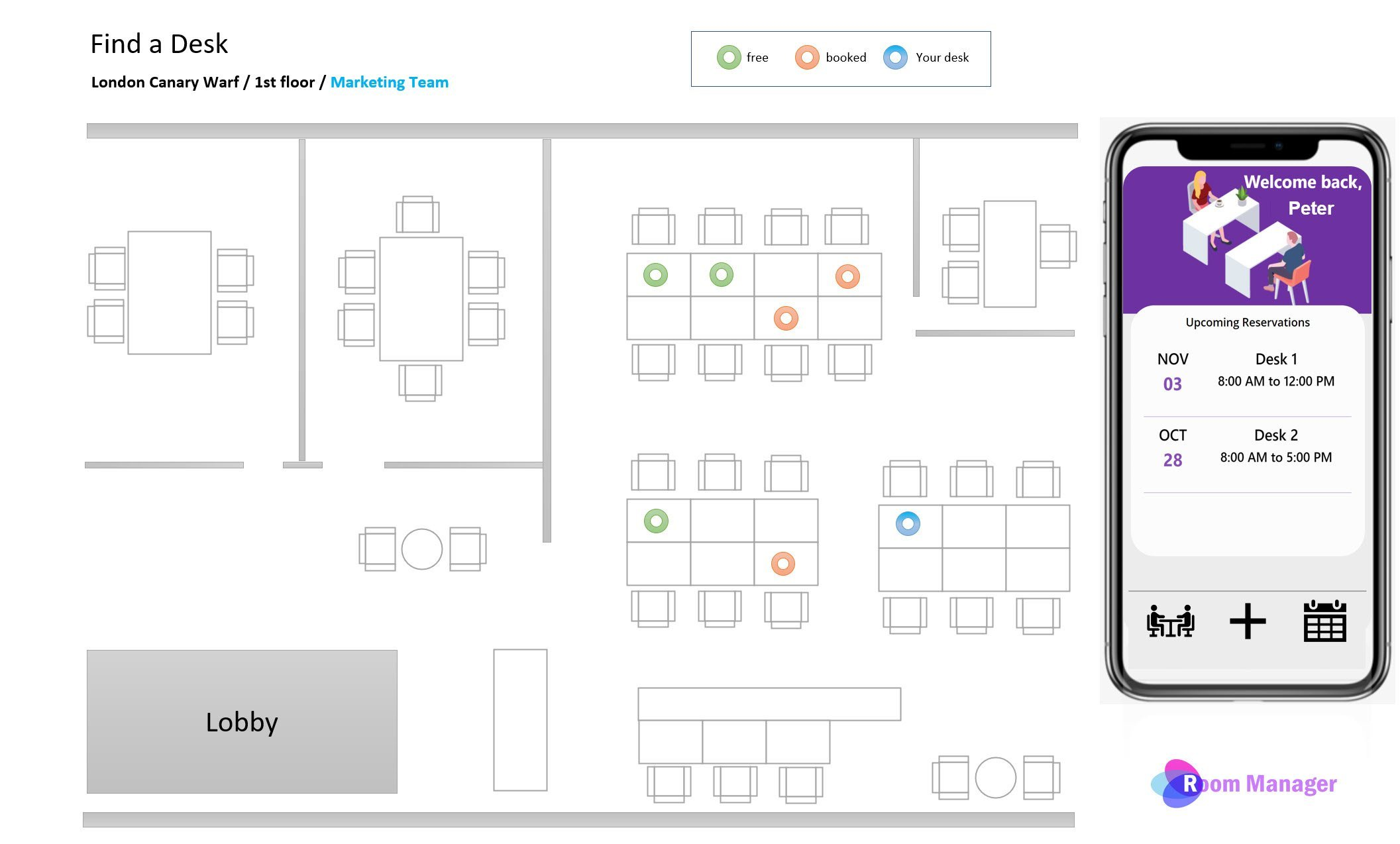 Interactive floorplan and powerApps