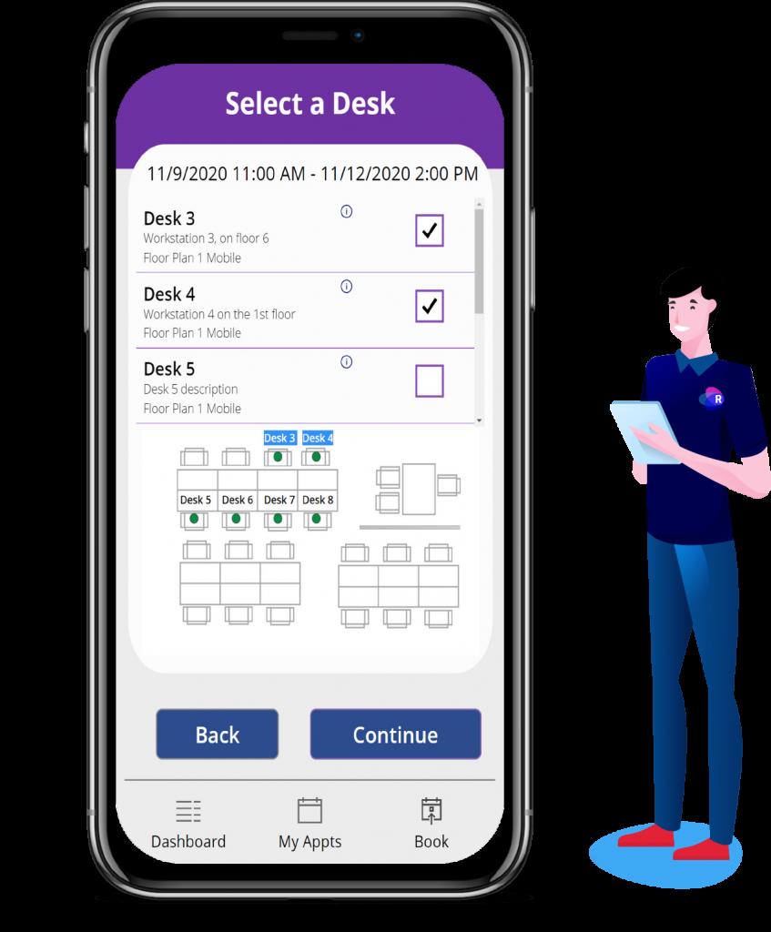 Desk Booking Room Manager App