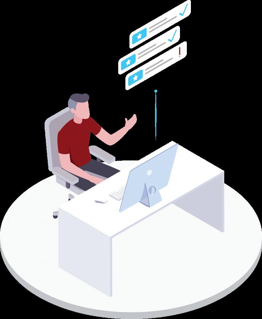 Desk Management Approval Workflow