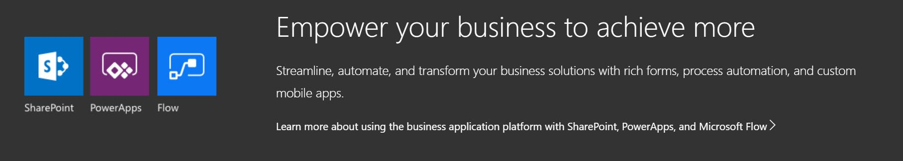 PowerApps, Flow, Sharepoint