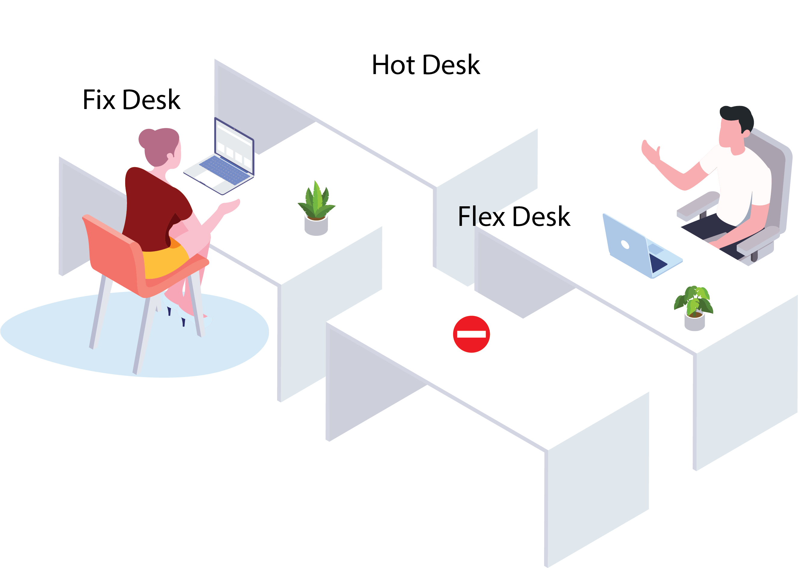 Fix Hot Flex Desk Management