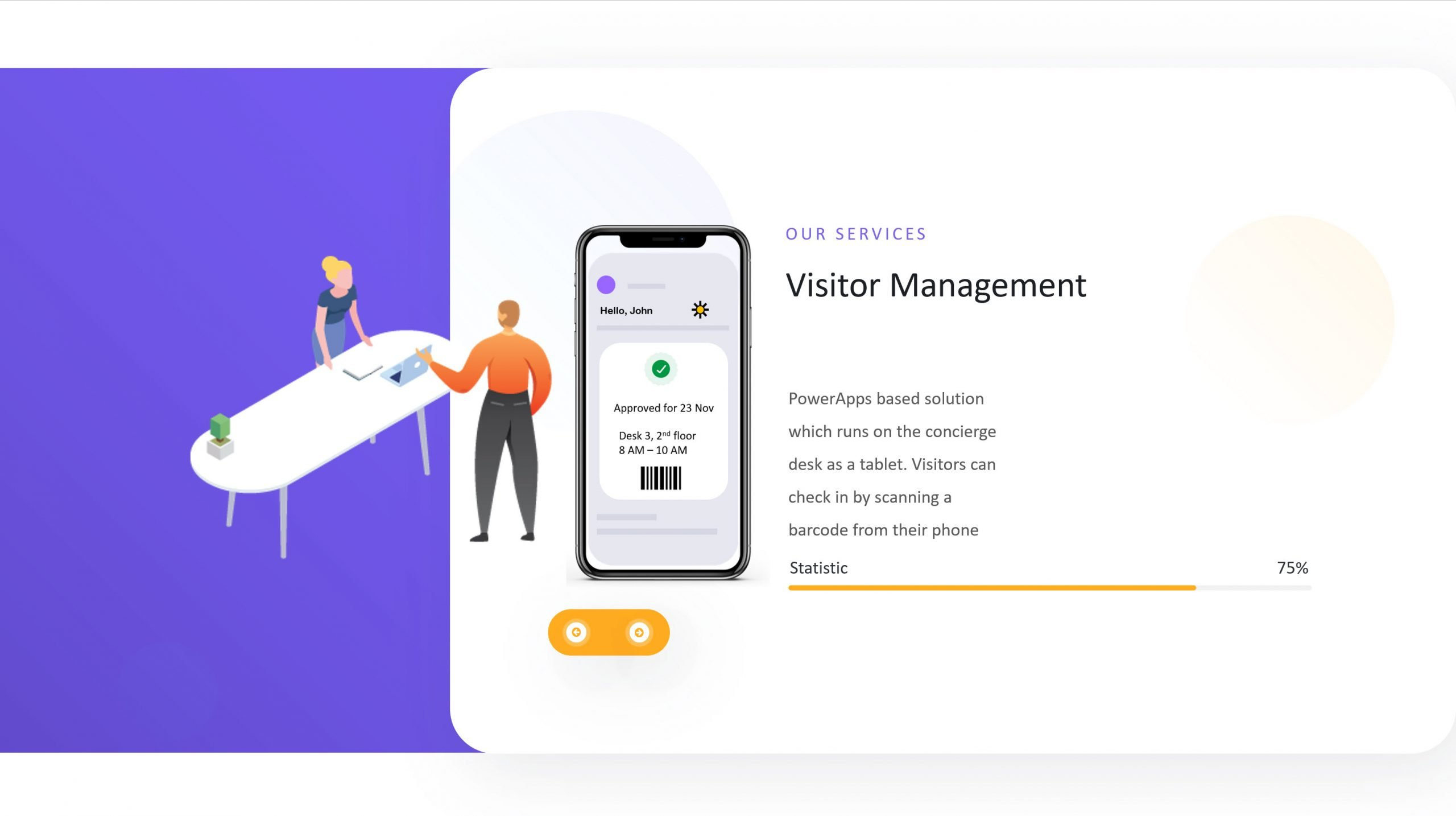 SharePoint Visitor Registration App
